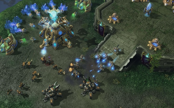 StarCraft II: Heart of the Swarm screenshot 30