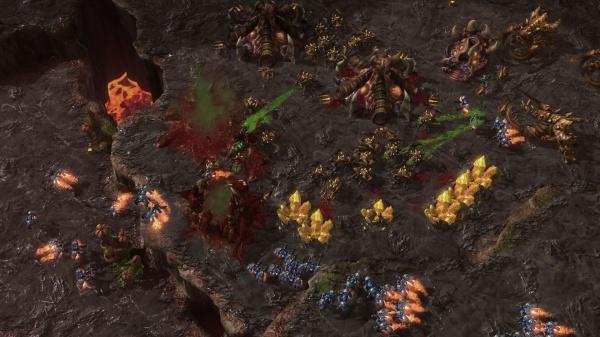 StarCraft II: Heart of the Swarm screenshot 32