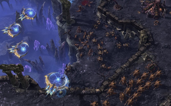 StarCraft II: Heart of the Swarm screenshot 36