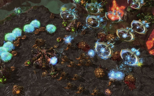 StarCraft II: Heart of the Swarm screenshot 46
