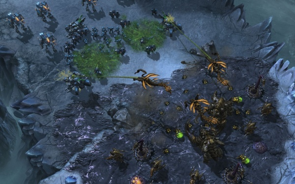 StarCraft II: Heart of the Swarm screenshot 50