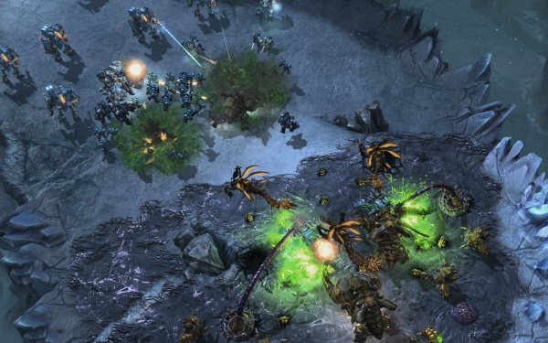 StarCraft II: Heart of the Swarm screenshot 51