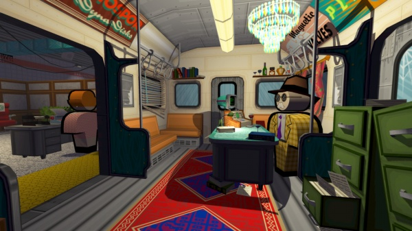 Jazzpunk screenshot 1