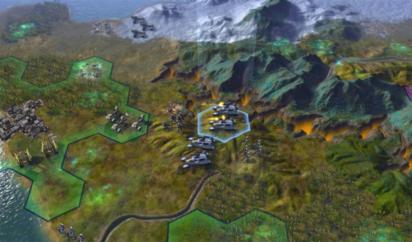 Civilization: Beyond Earth screenshot 11