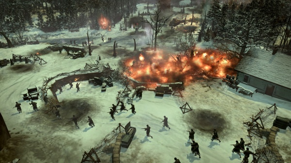 Company of Heroes 2 deploying to the Ardennes