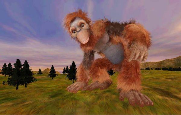 Ape creature