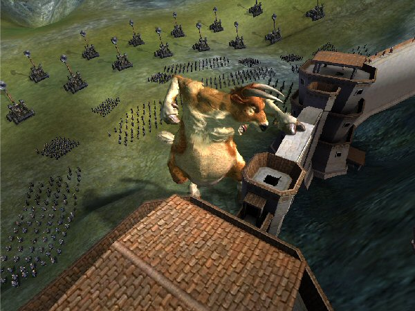 Siege cow