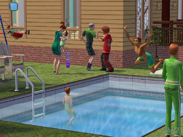 St. Paddy's pool party