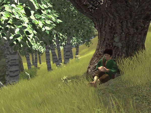 A Hobbit at rest