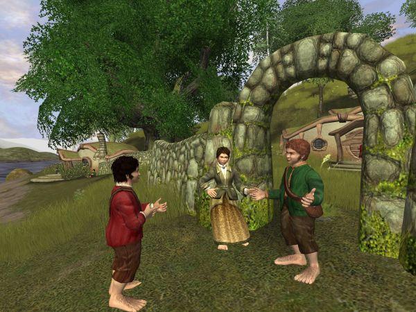 A Hobbit conversation