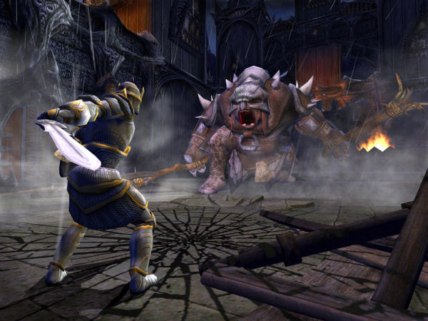 Cave troll showdown