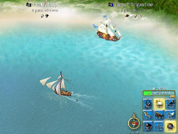 Pirates! Screenshot 1 - PC - The Gamers' Temple
