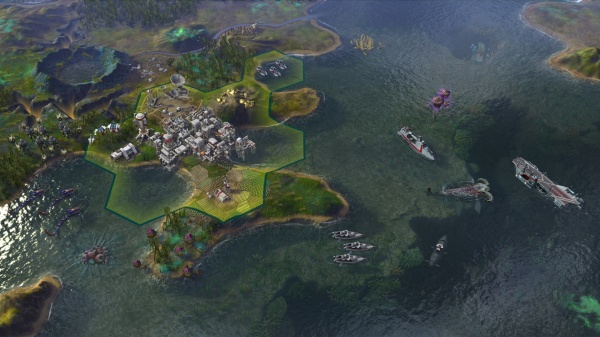 Civilization: Beyond Earth - Rising Tide screenshot 3
