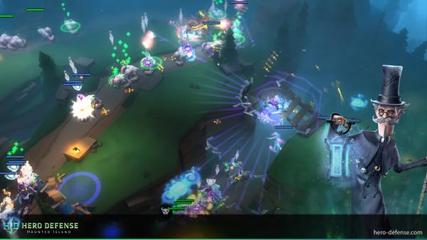 Hero Defense - Haunted Island screenshot 5