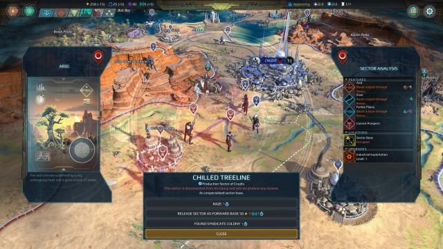 Age of Wonders: Planetfall screenshot 12