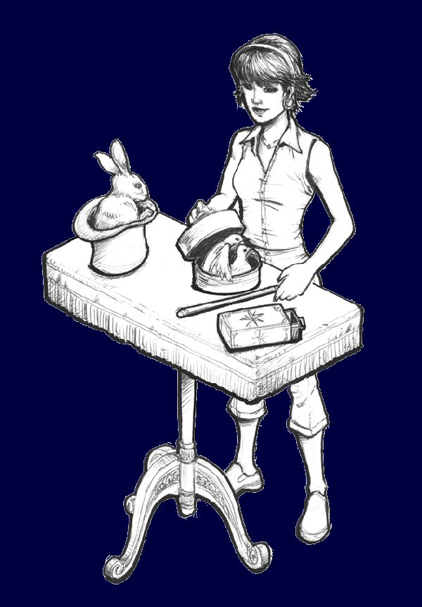 Magic trick table