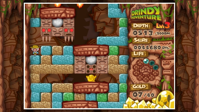 Mr. DRILLER DrillLand screenshot 2