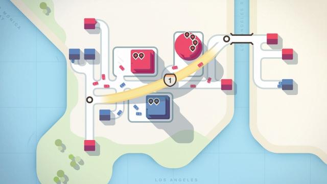 Mini Motorways screenshot 1