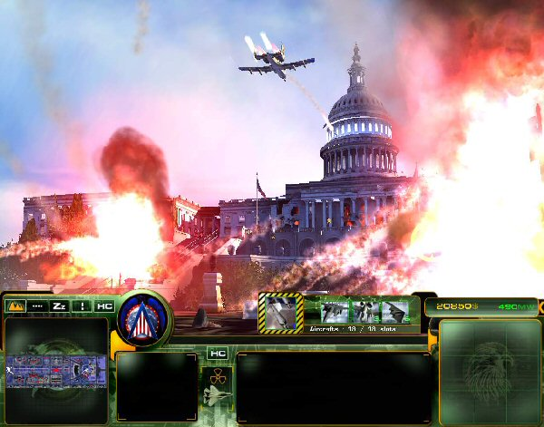 Capitol under fire