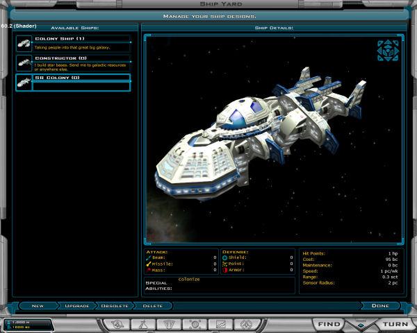 New colony ship