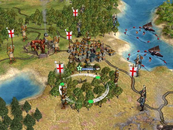 London under siege
