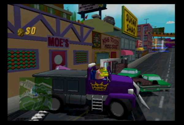 The Simpsons Road Rage Screenshot 2 - PlayStation 2 - The
