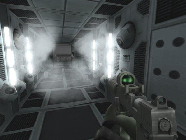 Steamy corridor