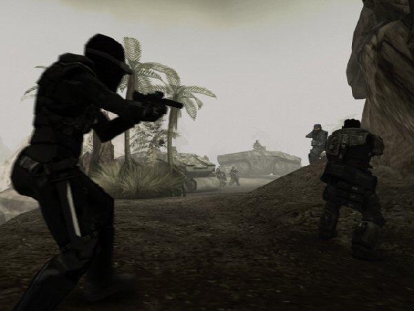 Bunker assault
