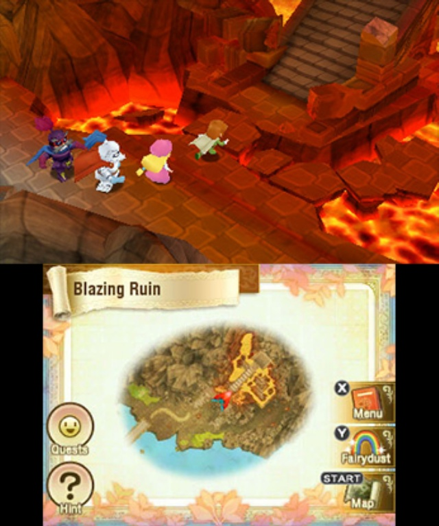 Return to PopoloCrois: A Story of Seasons Fairytale screenshot 2