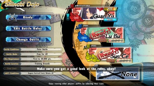 Senran Kagura Estival Versus screenshot 11
