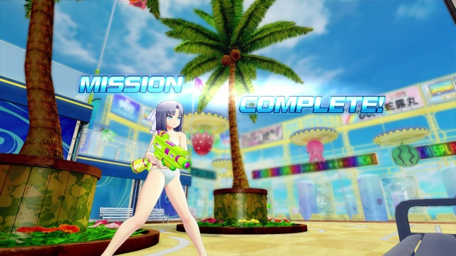 Senran Kagura Peach Beach Splash screenshot 2