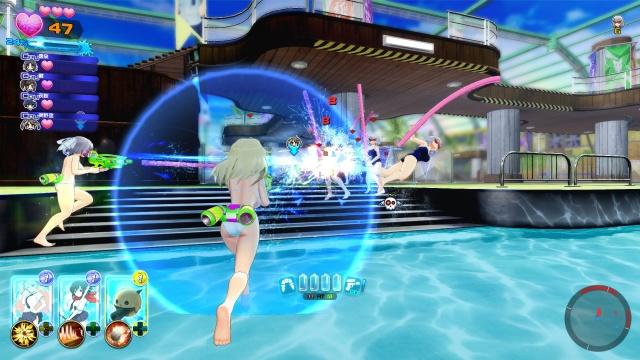 Senran Kagura Peach Beach Splash screenshot 8