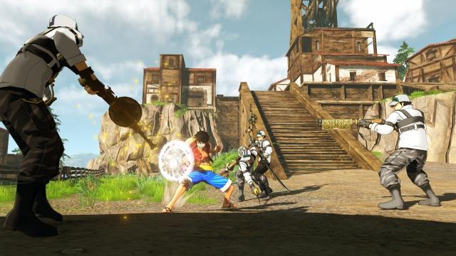 One Piece: World Seeker screenshot 12