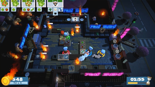 Overcooked 2 screenshot 1