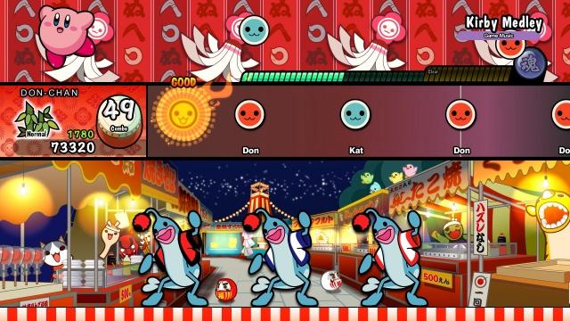 Taiko no Tatsujin: Drum 'n' Fun screenshot 1
