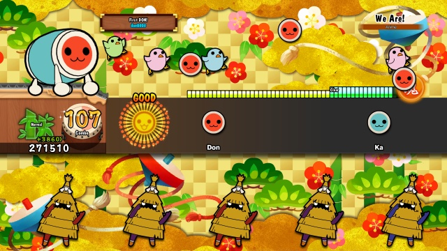 Taiko no Tatsujin: Drum Session screenshot 1