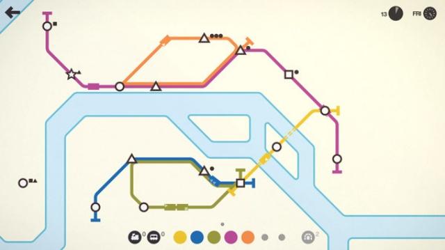 Mini Metro screenshot 6