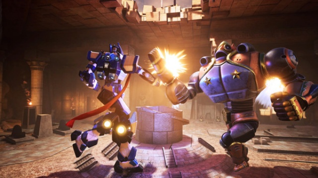 Override: Mech City Brawl screenshot 3