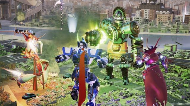 Override: Mech City Brawl screenshot 5