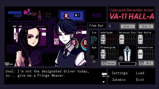 VA-11 HALL-A: Cyberpunk Bartender Action screenshot 5