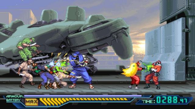 The Ninja Saviors: Return of the Warriors screenshot 1