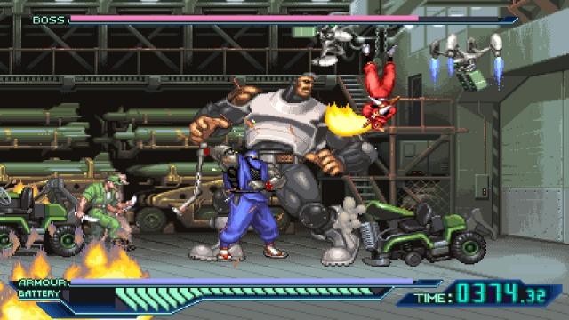 Ninja Saviors: Return of the Warriors screenshot
