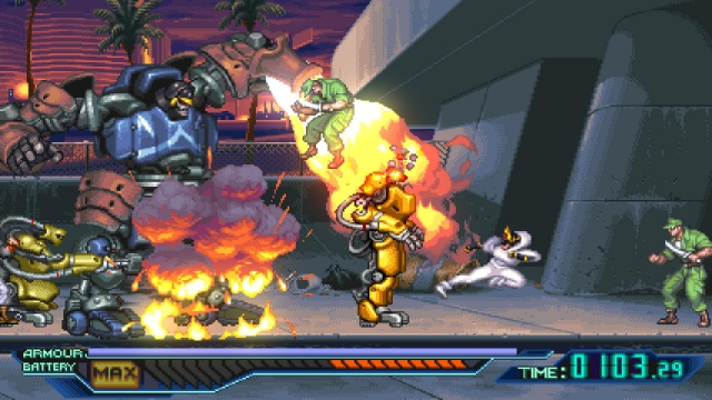 The Ninja Saviors: Return of the Warriors screenshot 5
