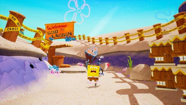 Run, SpongeBob, run!