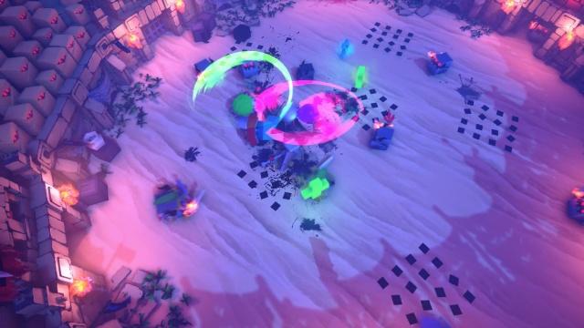 Cubers: Arena screenshot 1