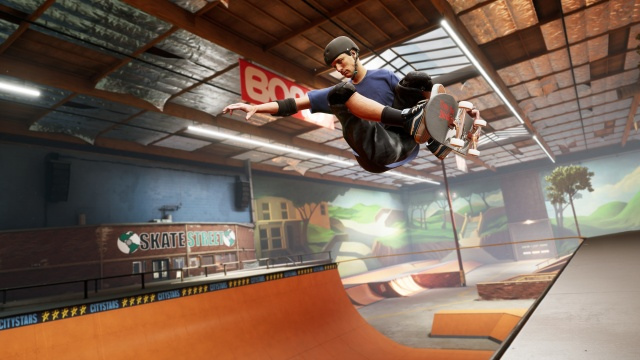 Tony Hawk's Pro Skater 1 and 2 review screenshot