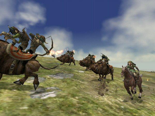 Horseback chase