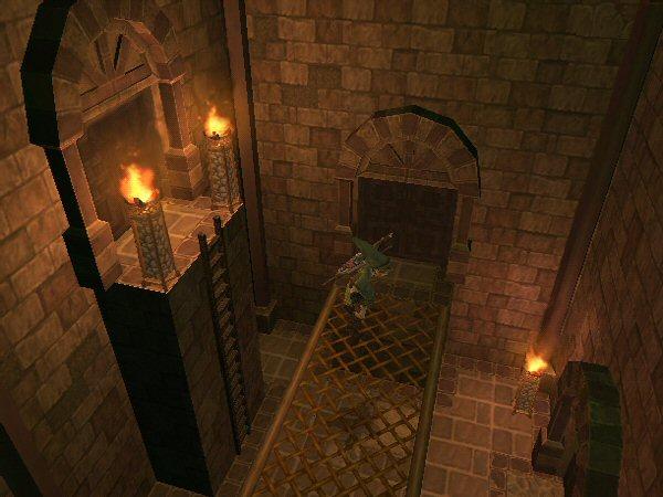 Dungeon walkway