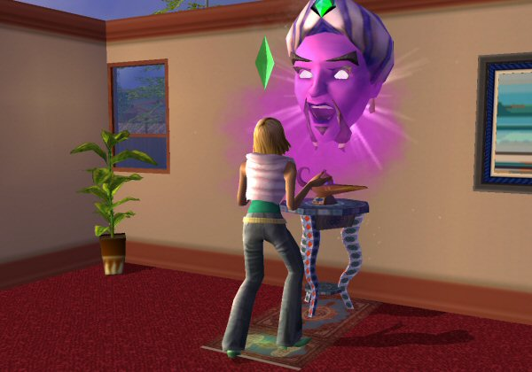 The Sims 2 Screenshot 2 - PlayStation 2 - The Gamers' Temple