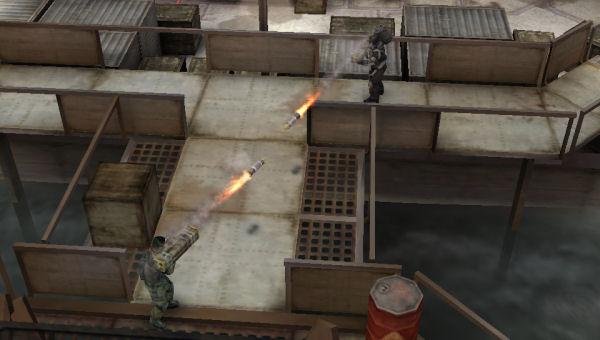 Rocket fire